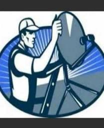 Técnico em instalação de antena