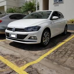 4 Meses de Uso - Novo VW Polo Highline Branco Cristal 200 (Tech High) 1.0 12V Tsi At6 Flex - 2019