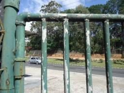 Troco por carro antigo portão grande de tubo grosso reforçado e galvanizado anti-ferrugem