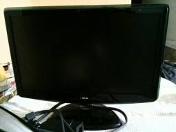 Monitor Led Hd 18'5 pol. Aoc Ultra fino Widescreen