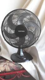 Ventilador Oscilante Mesa Turbo 50cm Premium Preto - Ventisol