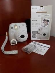 Câmera instax mini 9 branca fujifilm