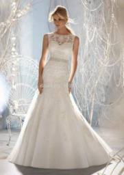 Vestido de noiva modelo sereia NOVO maravilhoso!