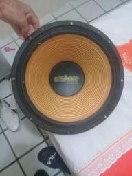 Par de fone oversound 550w, 15 polegadas