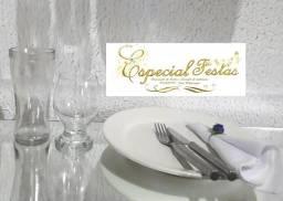1,50 kit louças para jantar ou almoço Festas