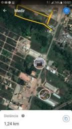 Área da BR 010, ao lado do posto fiscal do Bananal