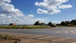 Área de 03ha frente para a pista no trevão em frente ao posto faisão.