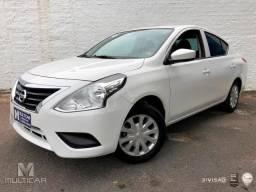 Nissan VERSA SV 1.6 16V Flex Fuel 4p Mec. - Branco - 2016 - 2016