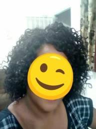 Wig Black cacheada