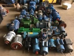 Motores trifasicos, monofasicos e bombas d'agua