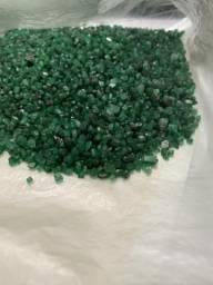 Esmeraldas para lapidação