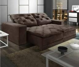 Título do anúncio: Sofá retrátil e reclinável com pillow top 250 m