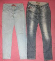 2 calças semi novas