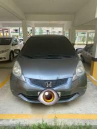 Honda FIT LXL 1.4 Flex Banco de couro e DVD.