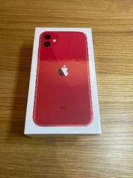 [NOVO] IPhone 11 Apple 64Gb Vermelho Lacrado com NF