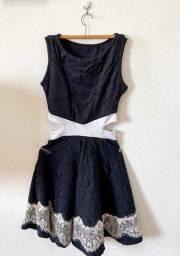 Vestido Decote Lateral