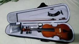 Violino marca giuseppi, 4/4 completo promoção