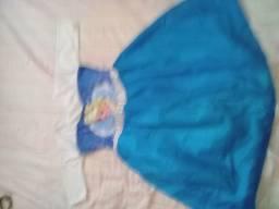 Vestido infantil da Elsa