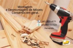 Montagem e Desmontagem de Móveis - Whatts-41- *