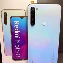 Celular Xiaomi Redmi Note 8 32gb branco Lacrado