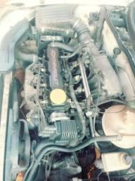 Motor corsa 1.0 4 bicos, alternador bosch. Painel