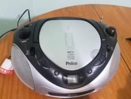 CD Player Portátil Philco c/ MP3