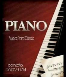 Aula de Piano particular