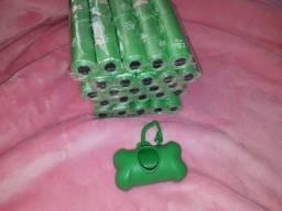 Saco biodegradável coletor