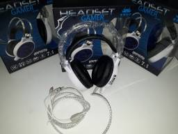 Título do anúncio: Headset Gamer Pro LED 7.1 Sound Deep Bass Cabo 2.2M Knup KP-402