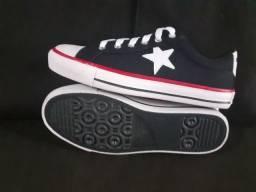 Tênis Super Star de Estrela - Entrego