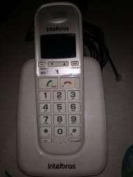 Vendo ou troco Telefone sem fio Intelbras