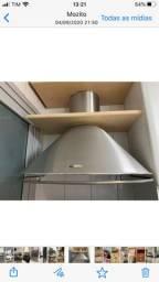 Coifa em inox marca tuboar - Exaustor e depurador