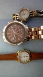 Vendo relógios femininos originais funcionam perfeitamente só trocar as pilhas