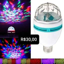 Lâmpada de luzes de festa