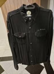 Camisa preta Club Denim