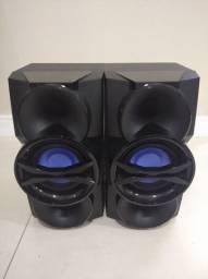 Par caixas surrond Philips Fwm9000
