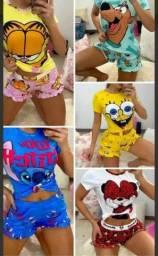 Pijamas de personagens