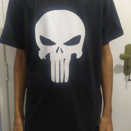 Camisa preta personalizada