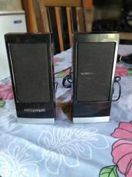 Caixa de som para pc Megaware