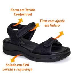 Apé Calçados Sandália papete Anatômica Azaleia