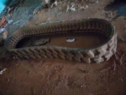 Esteira de borracha Miniescavadeira Bobcat 325