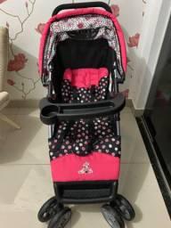 Carrinho de bebê + bebê conforto Importados