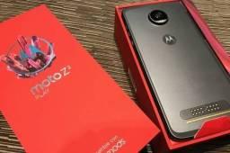Moto z2 play, novo com snap protetor, capinha e película