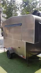 Trailer food truck usado