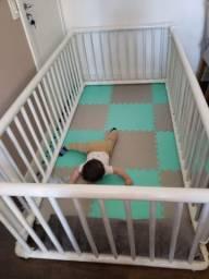 Cercado chiqueirinho desmontável de PVC para Bebê