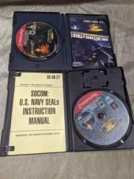 Jogos de PS2 originais