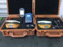 GNSS |Par Hi-Target V30 RTK com Coletora TPS ( Usado )