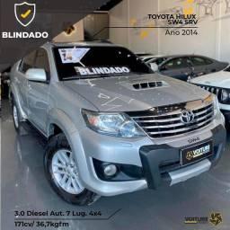 Título do anúncio: Toyota Hilux SW4 3.0 SRV Diesel Blindado