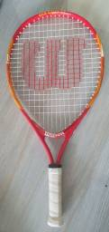 Raquete de Tênis Wilson Us Open 21 Infantil - Vermelho+Laranja