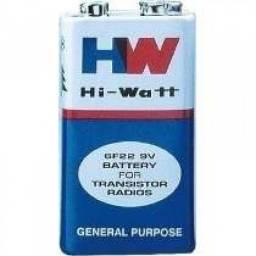 (WhatsApp) bateria alcalina hi-waote hiw 9v- und